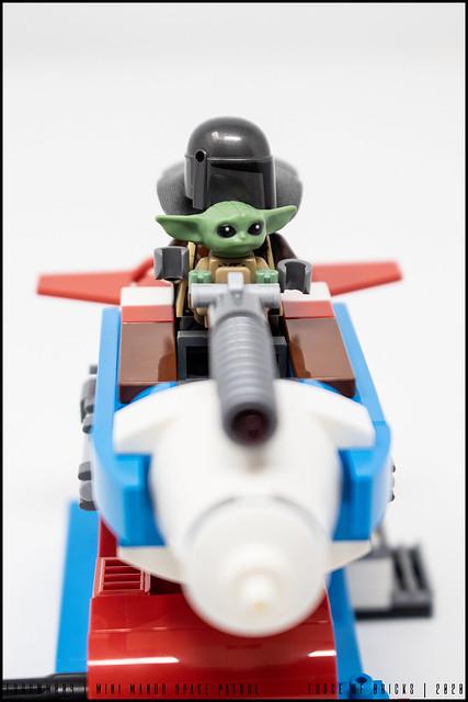 MOC - Force of Bricks | Mini Mando Space Patrol (fobswm004) 07