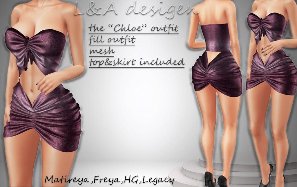 LA the chloe dress-Weekend offer!
