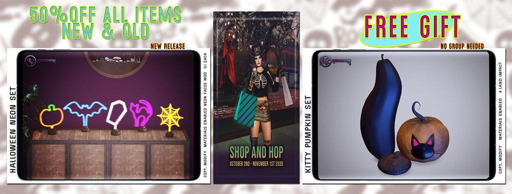 {ID} Halloween Shop & Hop 2020