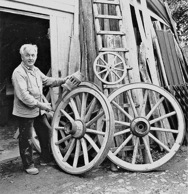 Bauerdick Fritz_mit großem Rad