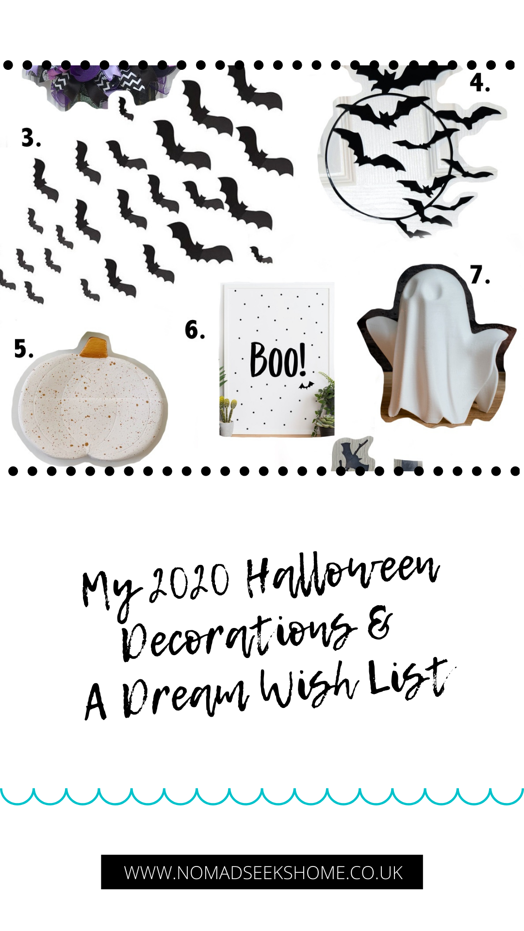My 2020 Halloween Decorations & A Dream Wish List