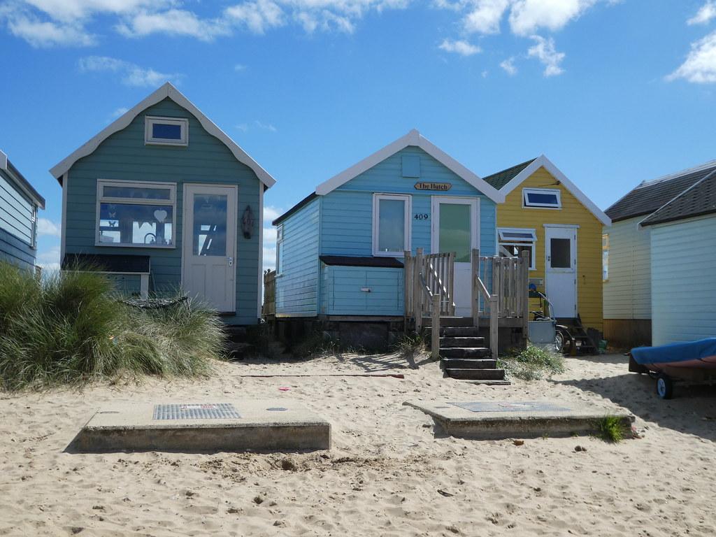 Beach huts, Mudeford Spit