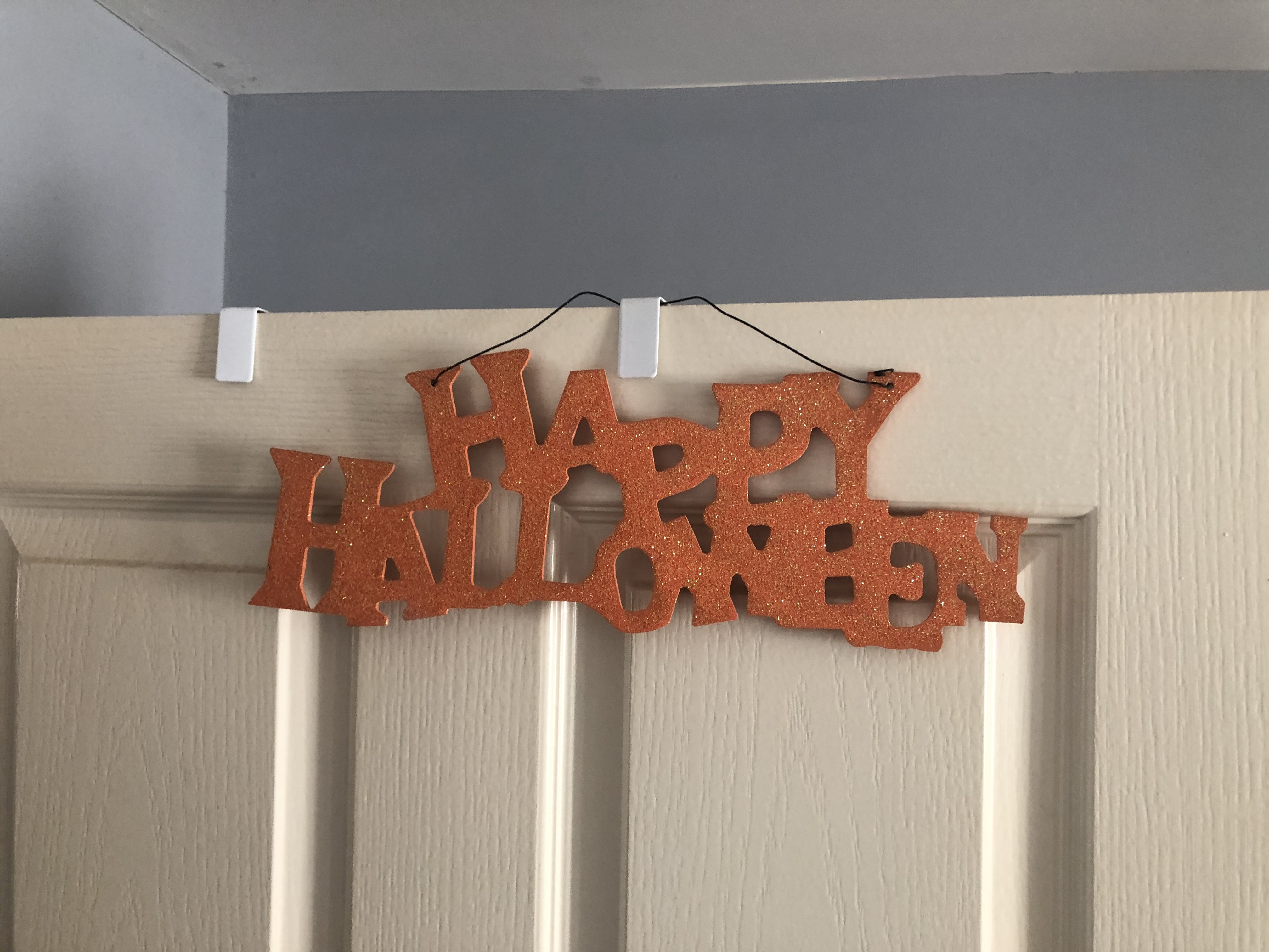 halloween decorations sign