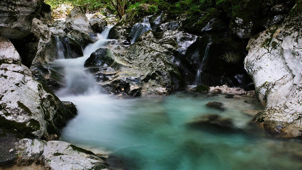 Sunik Water Grove, Soca Valley, Slovenia
