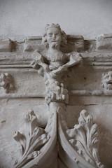 sedilia detail: king in a tree?