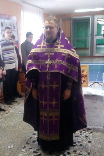 Молебен на начало учебного года в школе №7 г.Курчатова 2020