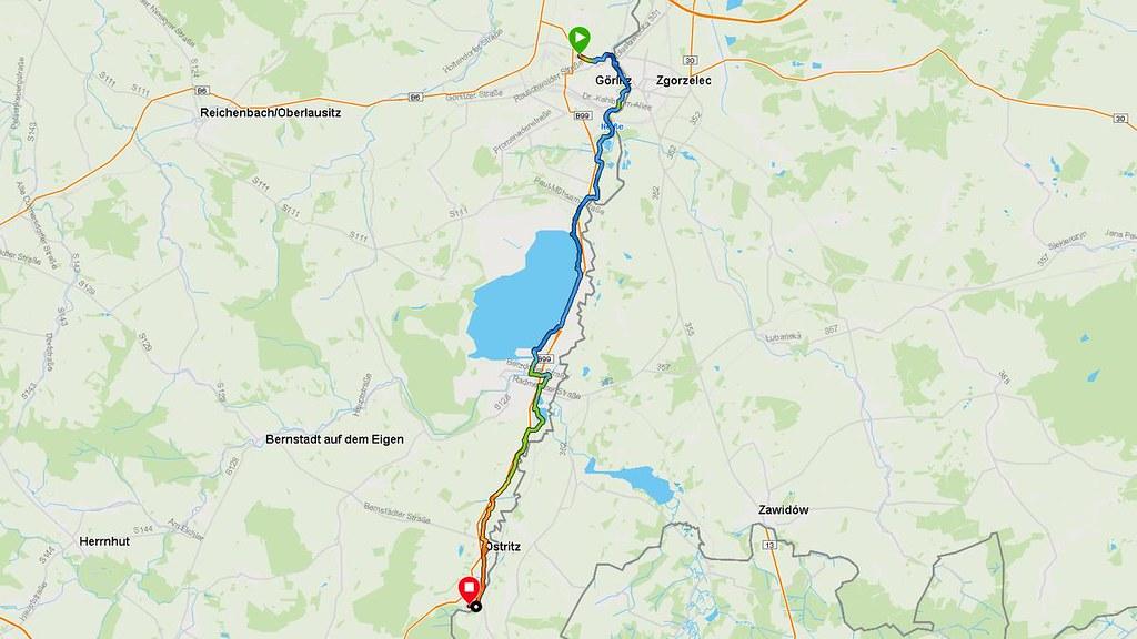 Radtour: Von Görlitz zum Kloster St. Marienthal auf dem Oder-Neiße-Radweg