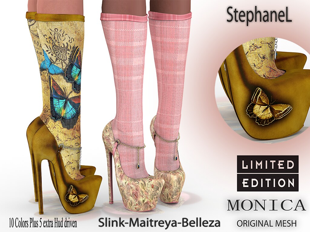 60L WeeKend [StephaneL] MONICA SHOES-SOCKS LIMITED EDITION FATPACK