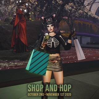 Second Life Halloween Shop & Hop 2020