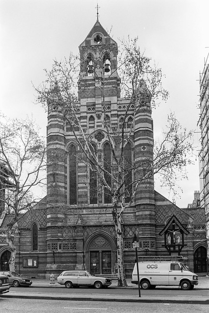 St Augustine's Church, Queens Gate, South Kensington, Kensington & Chelsea, 1988 88-4p-26-positive_2400