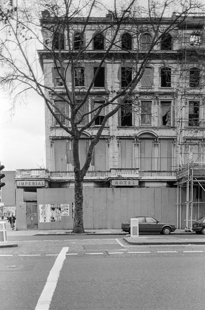 Imperial Hotel, Queens Gate, South Kensington, Kensington & Chelsea, 1988 88-4p-24-positive_2400