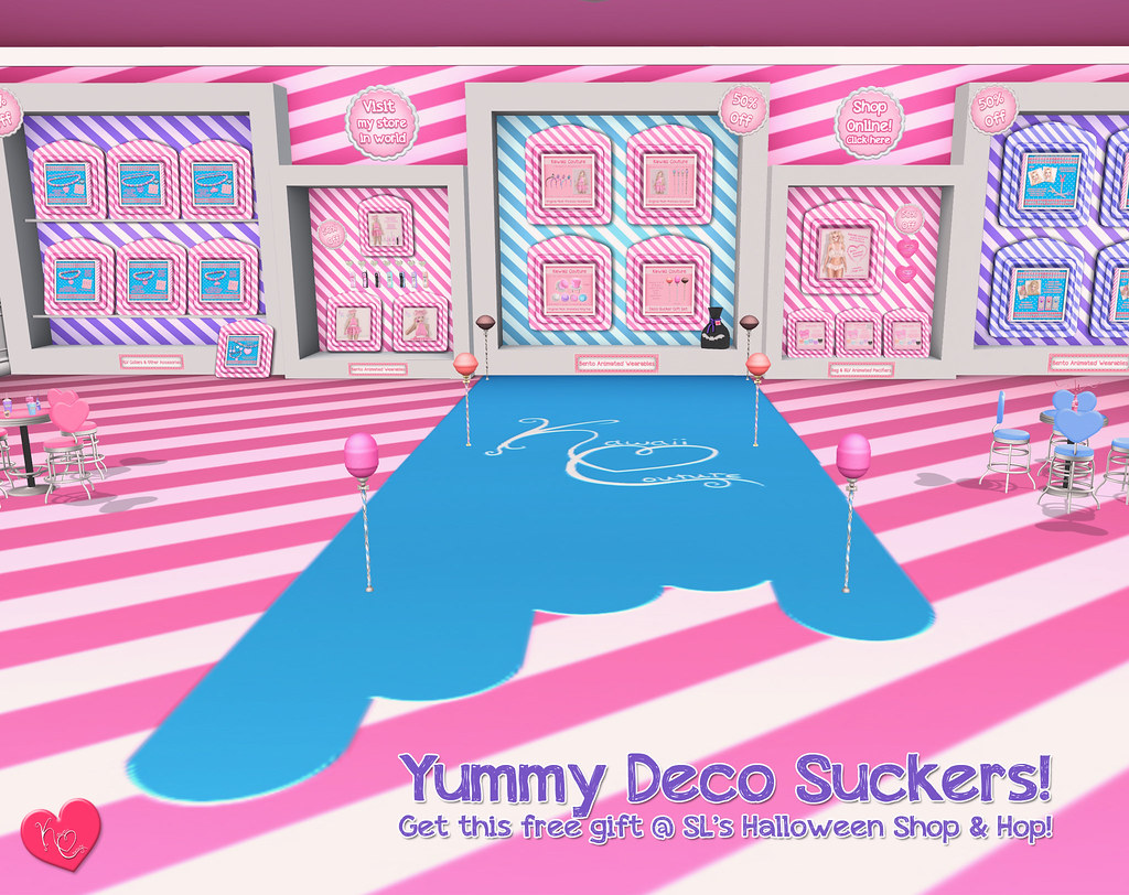 Kawaii Couture Deco Sucker Gift Set Ad 2