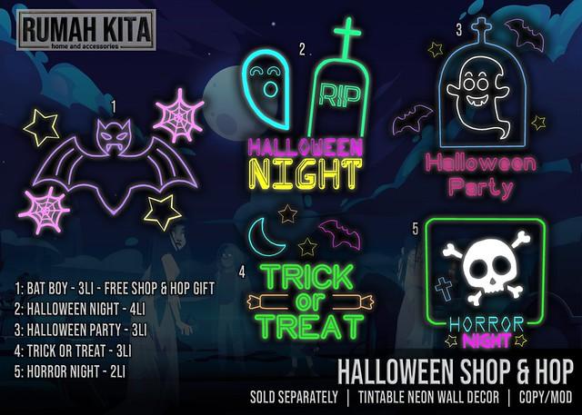 Rumah Kita - Halloween Time @ Shop & Hop