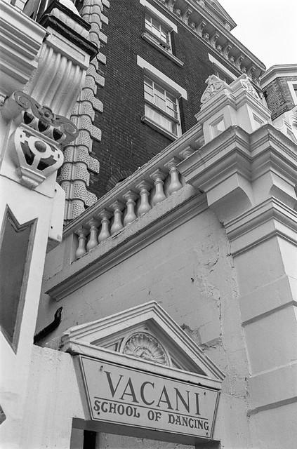 Vacani, School of Dance, Harrington Rd, South Kensington, Kensington & Chelsea, 1988  88-4q-43-positive_2400