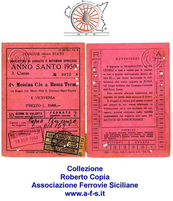 125 - Settembre 2020 - Un biglietto di 3ª Classe per l'Anno Santo 1950 50408480612_7a2217d8dc_z