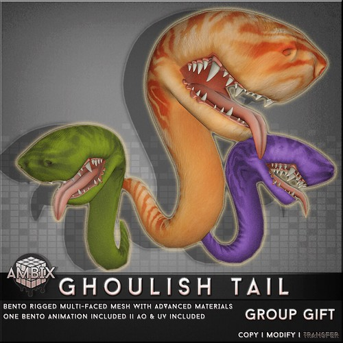 AMBIX // Ghoulish Tails - Group Gift