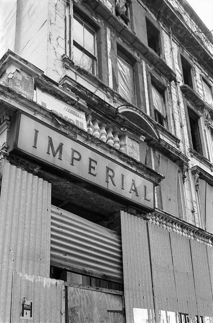 Imperial Hotel, Queen's Gate, South Kensington, Kensington & Chelsea, 1988  88-4q-62-positive_2400