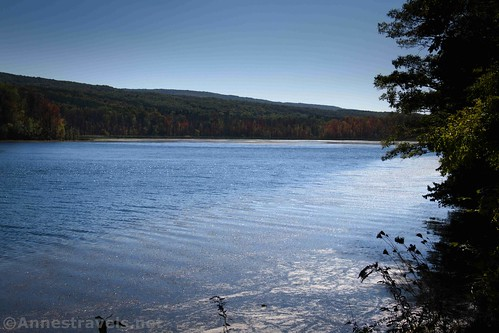 Looking south over Canadice Lake, New York