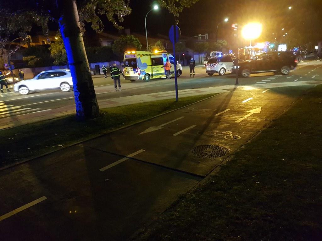Accidente de tráfico Salamanca.  (7)