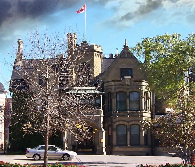 Toronto Ontario - Canada - Massey Mansion - AKA - Keg Mansion - Heritage - Vintage Photo - Old