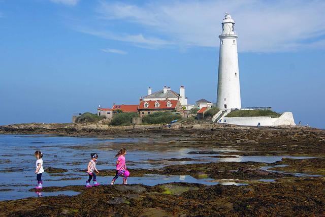 Children exploring their world