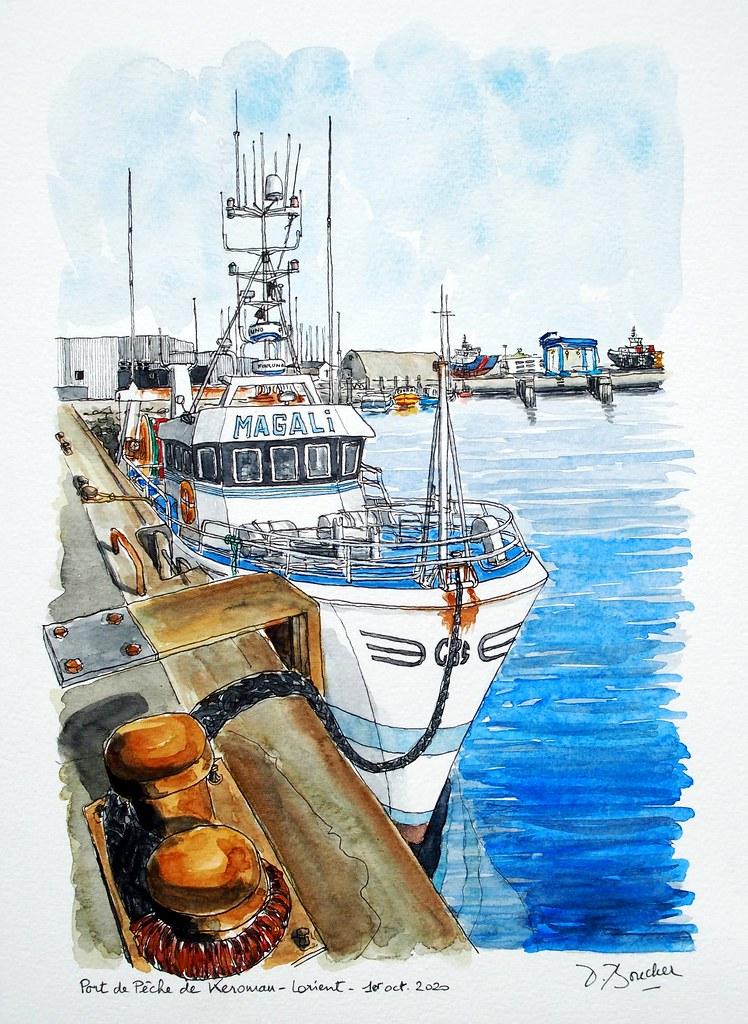 Port de Pêche de Keroman - Lorient - 1er octobre 2020