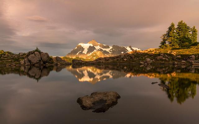 Reflections of Mt Shuksan