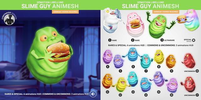 SEmotion Libellune Slime Guy Animesh