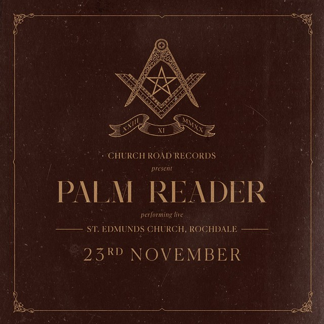 Live Review: Palm Reader - Live at St Edmunds Church, Rochdale [Stream]