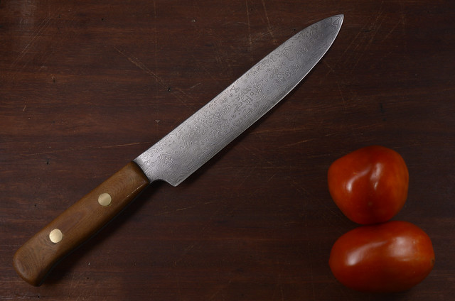Damascus chef knife