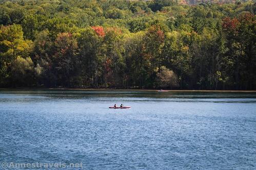 Canoe on Canadice Lake, New York