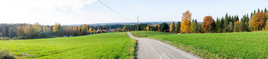 Muuruvesi; Erola 2.10.2020; panoraama
