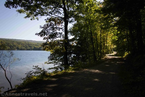 Viewpoint along the Canadice Lake Trail, New York