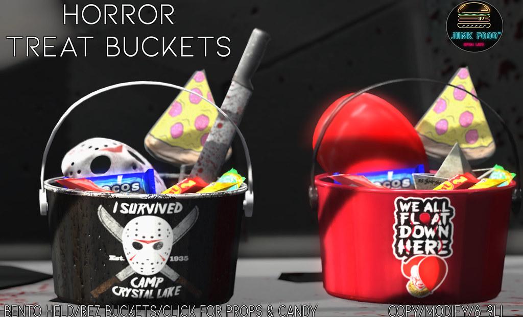 Junk Food – Horror Buckets