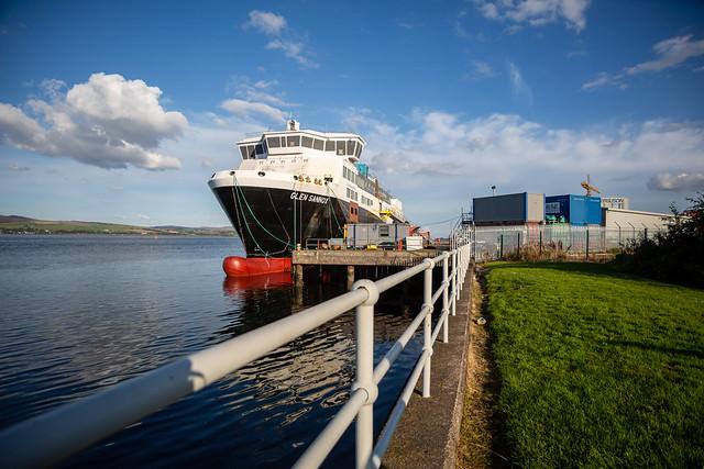 MV Glen Sannox, Port Glasgow