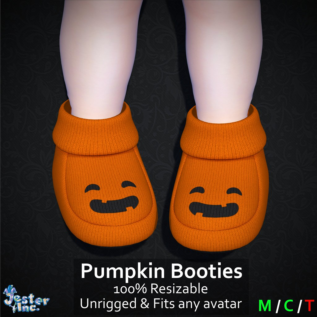 Presenting the new Pumpkin Booties from Jester Inc.
