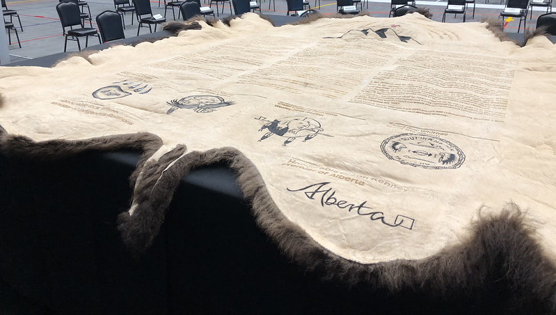 Four First Nations sign historic agreement with Alberta