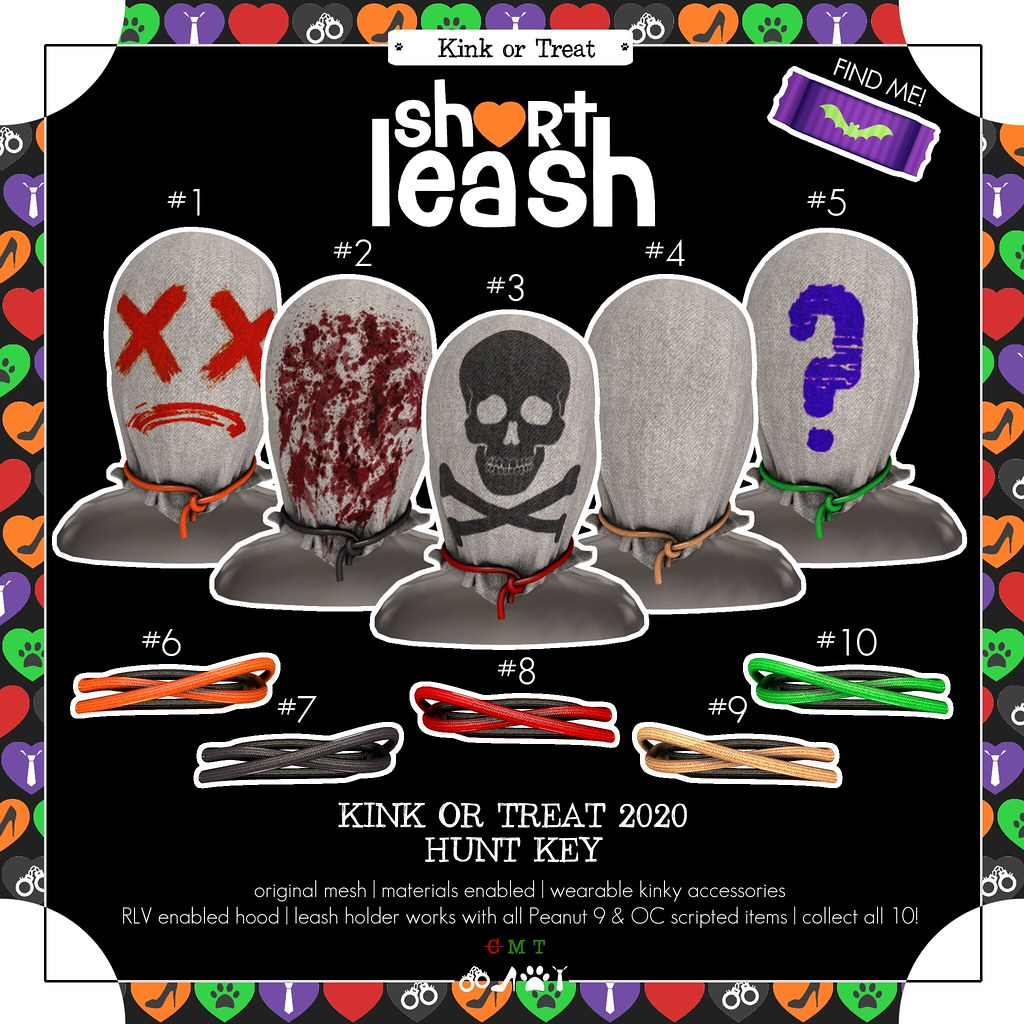.:Short Leash:. Kink or Treat Hunt 2020 key