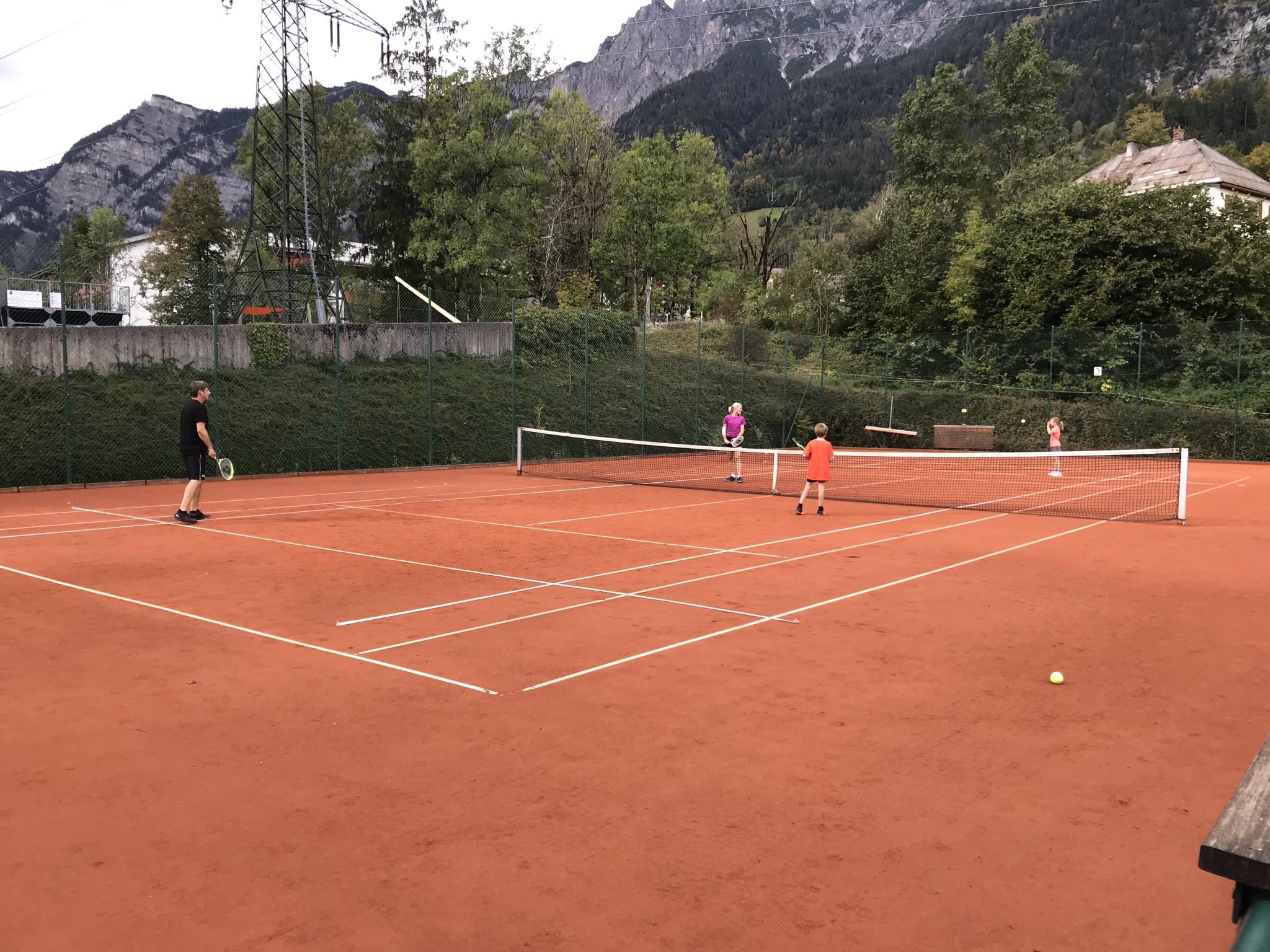 Abschlussturnier mit Family-Tennis 2020