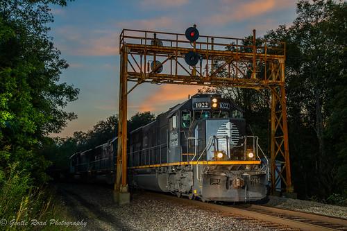 queen junction train pennsylvania illinois central ore