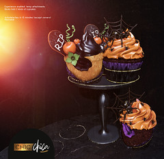 Spooky cupcakes by ChicChica @ Anthem