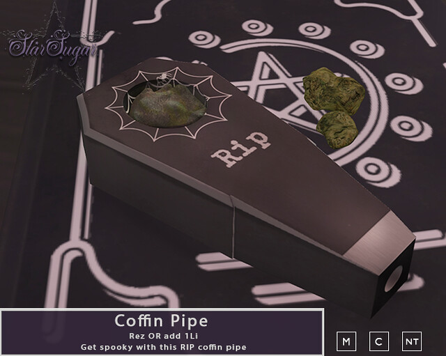 Coffin pipe GIFT