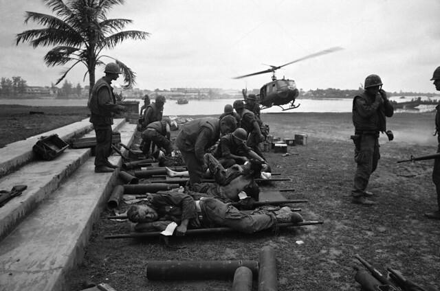Vietnam Wounded Evacuation - Huế 1968
