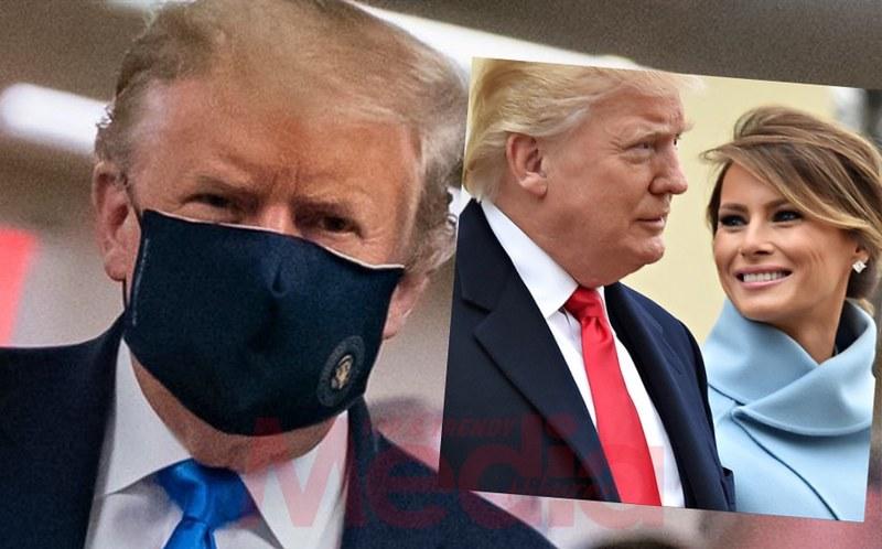 Donald Trump &Amp; Isterinya Disahkan Positif Covid-19