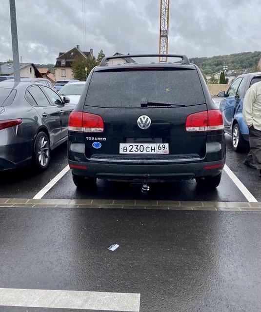 (RUS) B230CH69 back; US-Spec first gen. VW Touareg