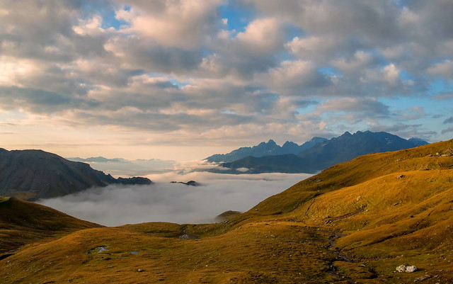 Ein Meer aus Wolken