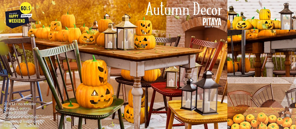 Pitaya – Autumn decor @ HW!