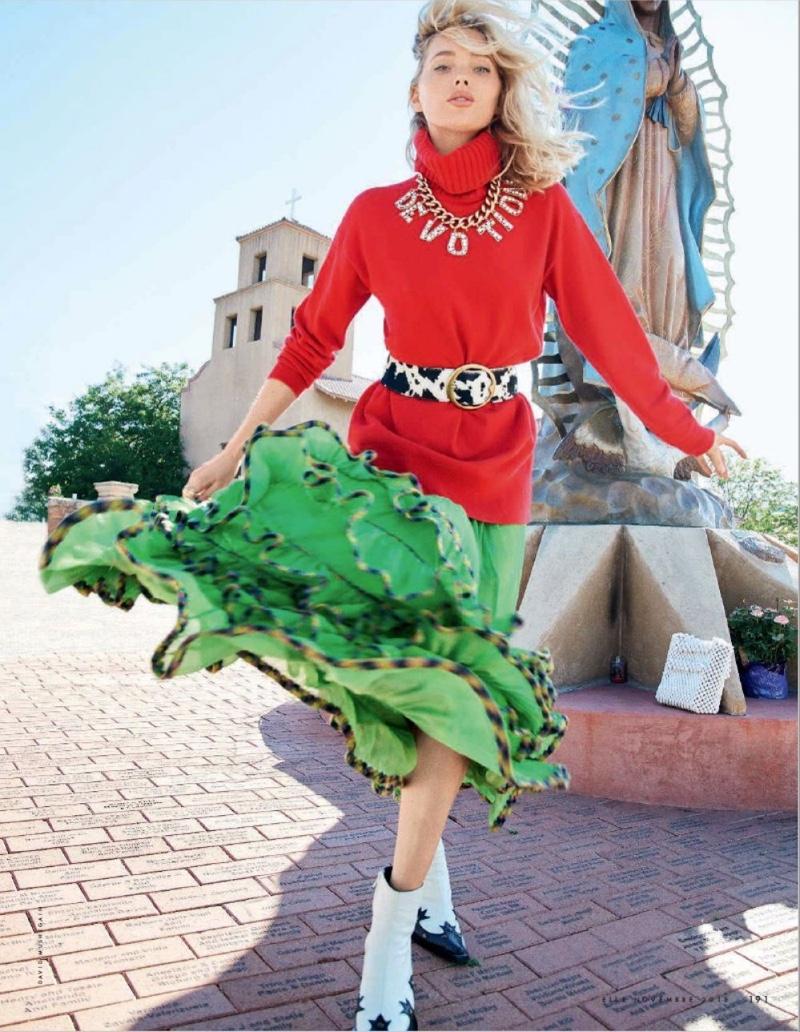 Elsa-Hosk-ELLE-Italy-Western-Cover-Editorial13