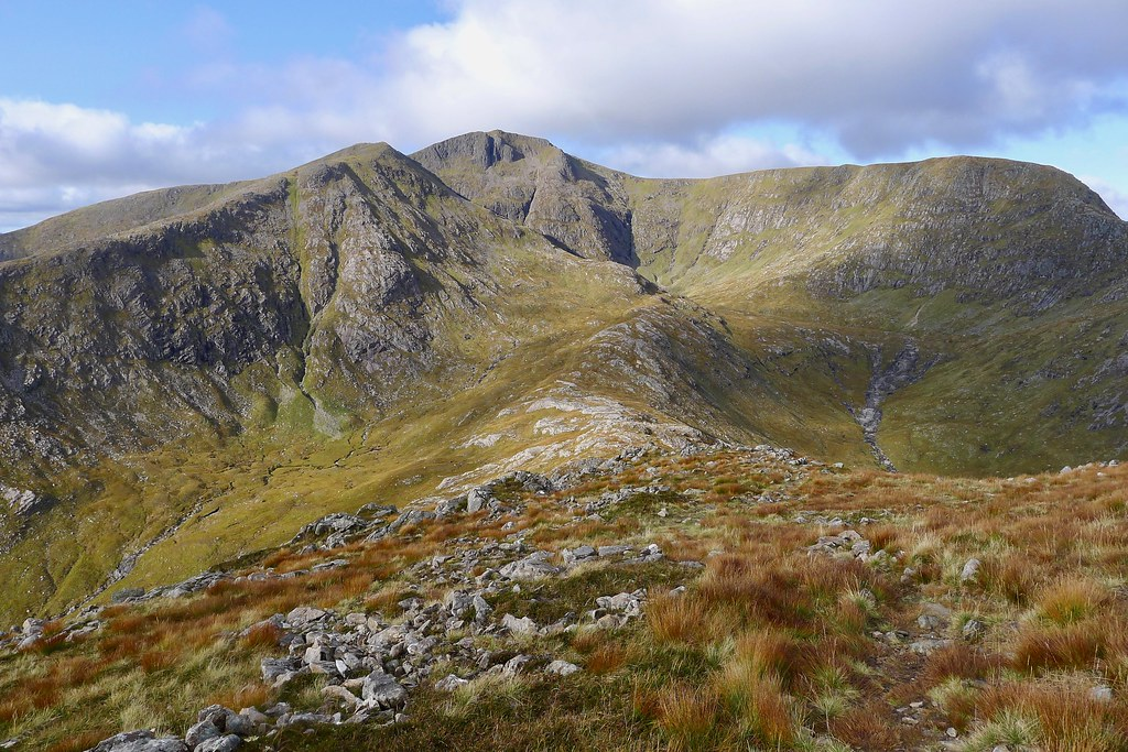 The ridge to Stob Ghabhar