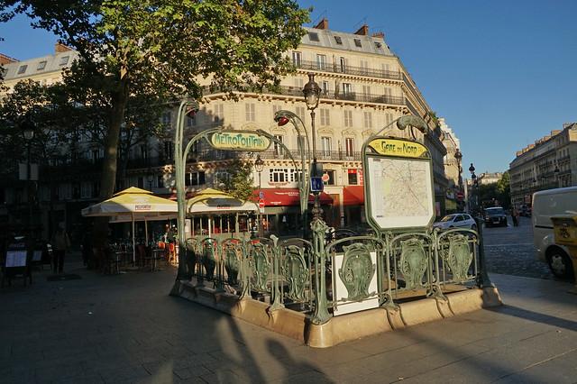 Rue de Dunkerque - Paris (France)